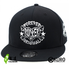 KURO-SHOP FOREVER ROCKER潮流板帽(可客製化)